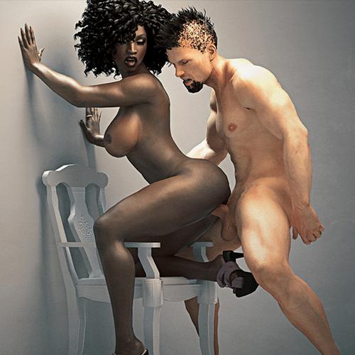 Interracial Simulator | Avis sur le jeu de sexe porno Interracial